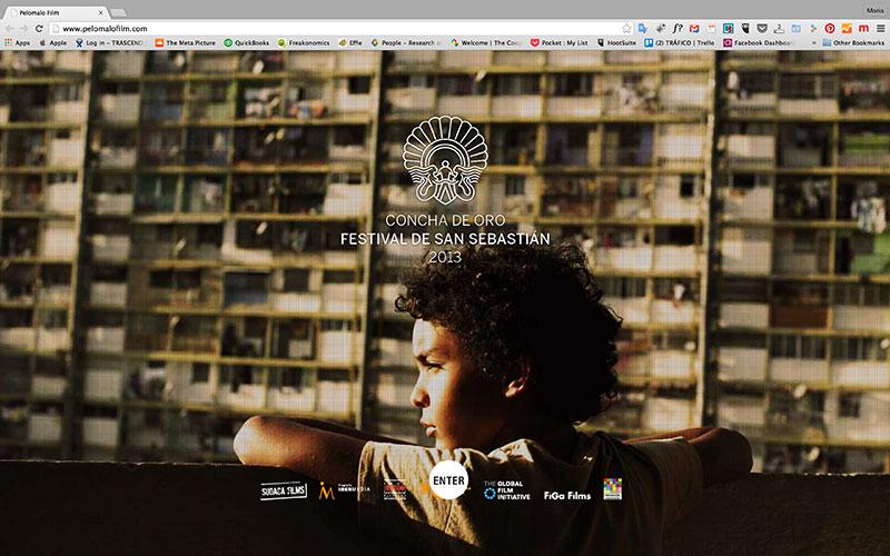 Bad Hair Film Website, 2015